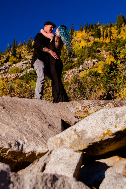 George and Janalee in Little Cottonwood Canyon-0709