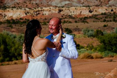 Clifftop Wedding on Hell's Backbone -2938