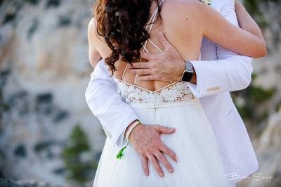 Clifftop Wedding on Hell's Backbone -3262