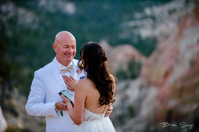 Clifftop Wedding on Hell's Backbone -3460