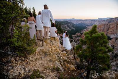 Clifftop Wedding on Hell's Backbone -9478