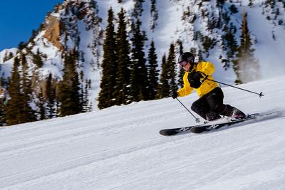 Family Ski at Snowbasin 4-5-17-8254