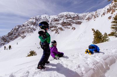 Family Ski at Snowbasin 4-5-17-7614-2
