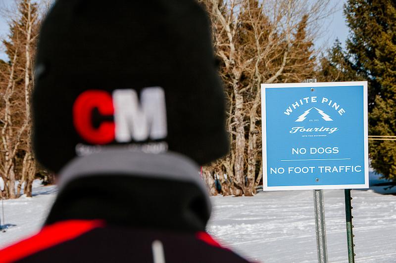 CM at White Pine Touring