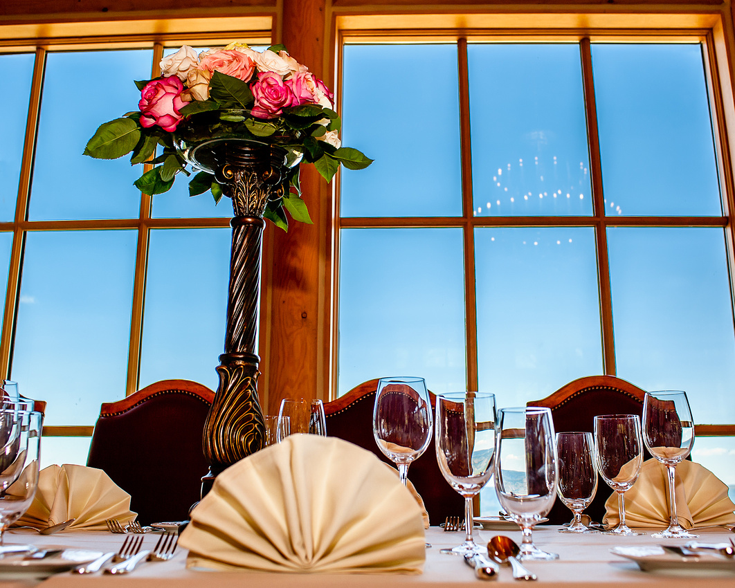 Snowbasin Wedding Inspiration-Roses above the clouds
