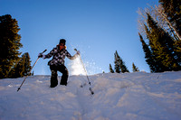 Snowshoeing at Snowbird with Wasatch Adaptive Sports