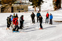 Wasatch Adaptive Sports Volunteer training taught by Peter Mandler