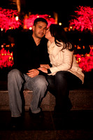 Engagement Under the Lights--12
