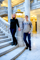 Keith and Leah at the capitol building-8855