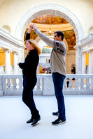 Keith and Leah at the capitol building-8881