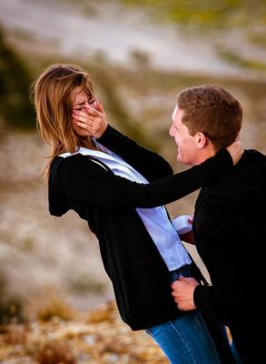 Surprise Wedding Proposal