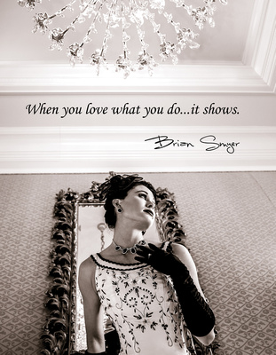 When you love what you do...it shows.  Brian Smyer, Utah wedding photographer