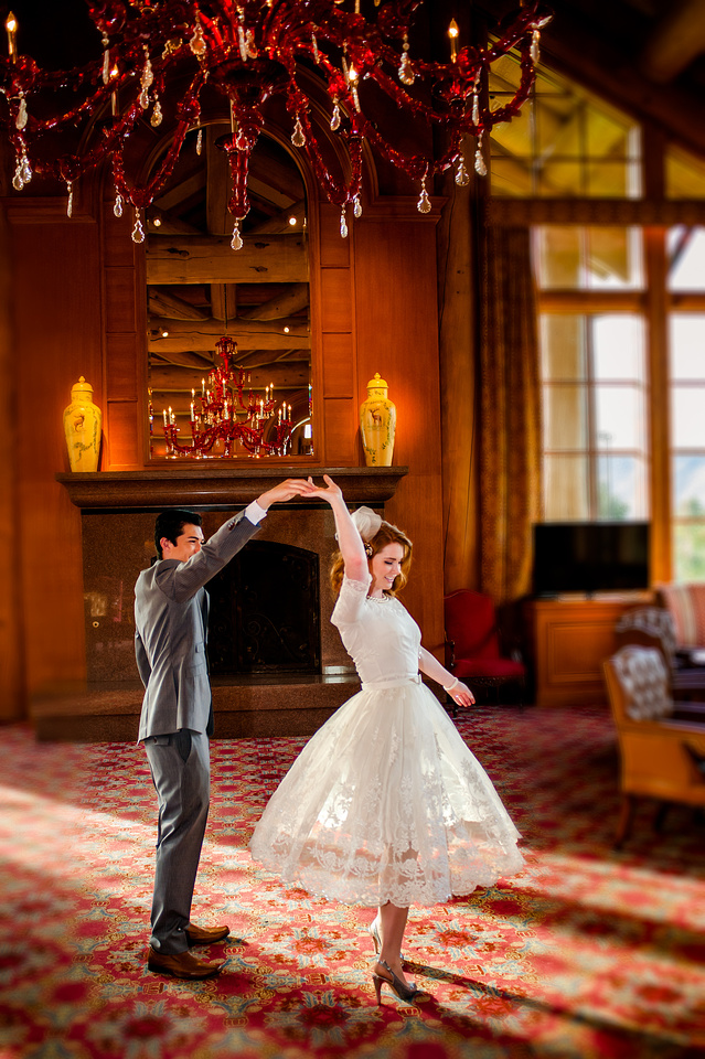 Snowbasin Wedding Inspiration-Dancing in the Earl's Lodge, Snowbasin.
