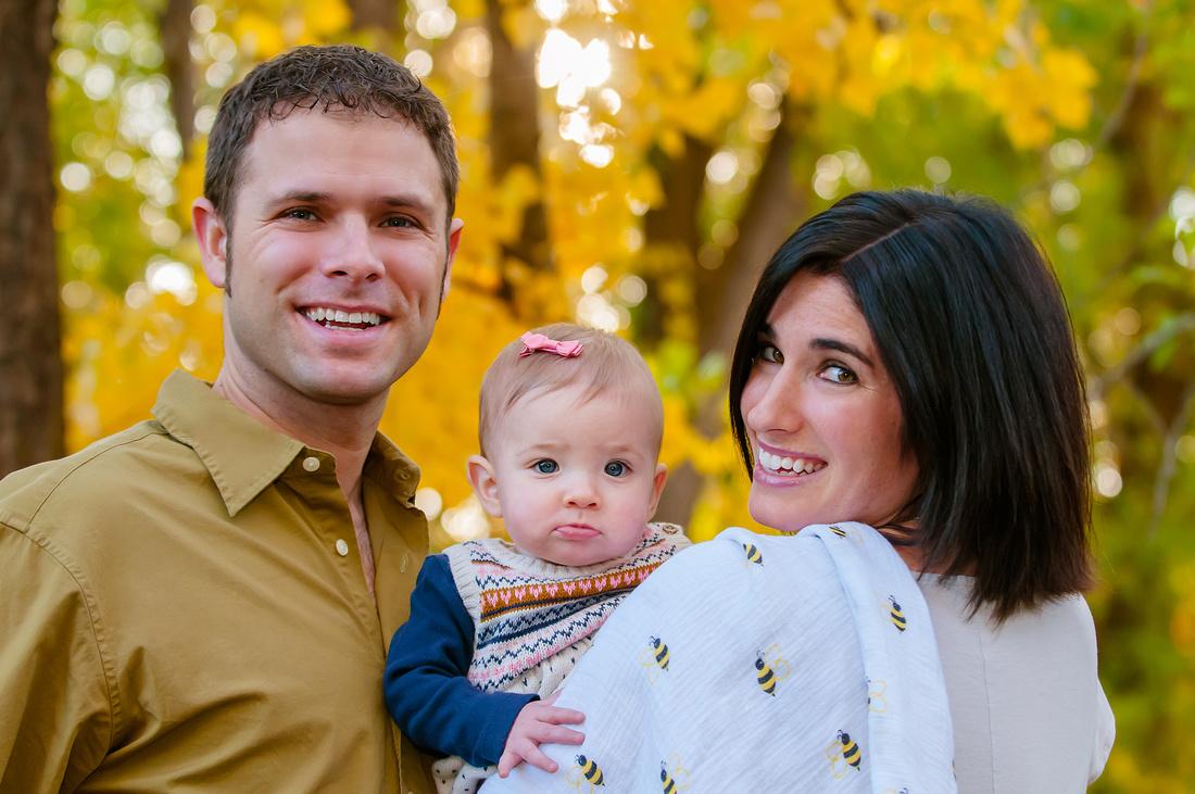 Fall Family Pictures in Salt Lake City, Utah.