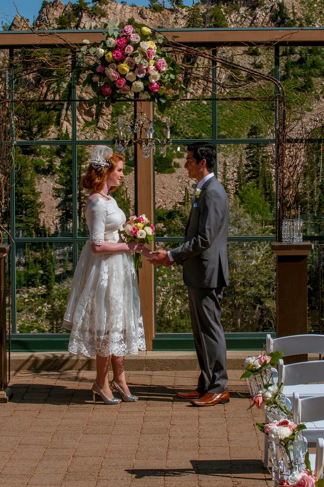 Snowbasin Wedding Inspiration-Wedding Ceremony