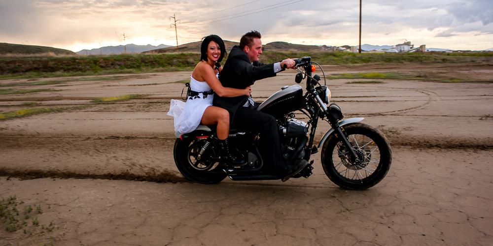 Harleys in the Mud