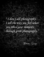I don't sell photography