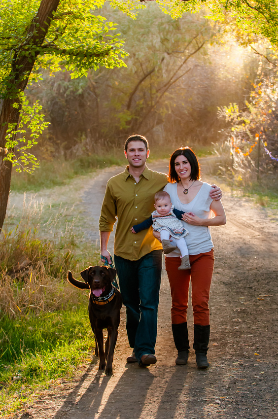 Fall Family Pictures in Salt Lake City, Utah.