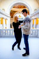 Keith and Leah at the capitol building-8895