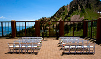 Snowbasin Wedding Inspiration Mountain wedding ceremony